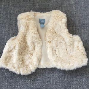 GAP Baby Girl Furry Vest